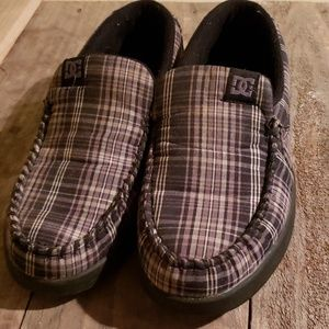 DC Shoe Plaid Slip-on Mens Size 7